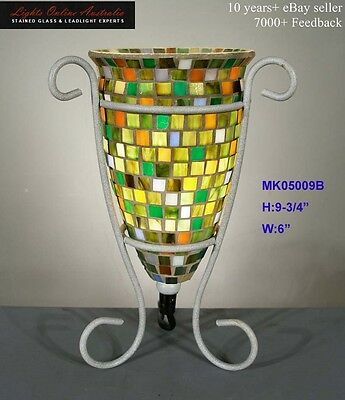 Amazing Mosaic Tiles Urn Table Lamp Light Lounge Living Bedroom New Unique