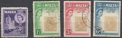 Malta Royal Visit & Stamp Centenary Fine Used
