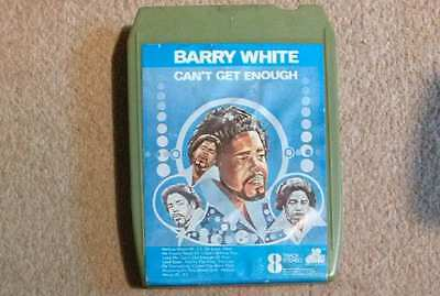 Barry White 8 TRACK cartridge - Can't Get Enough - 20th Century Y8BT 444