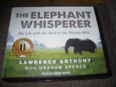 The Elephant Whisperer By Lawrence Anthony With Graham Spence 9-CDs Audio Book