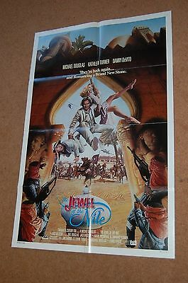 The Jewell Of The Nile (1985) - Original Us One 1 Sheet Poster - Michael Douglas
