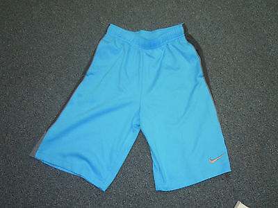 Nike Youth/boys Girls Athletic/basketball Shorts Size Large Blue