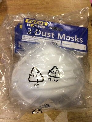 Focus Pack Of 18 Dust Masks One Size