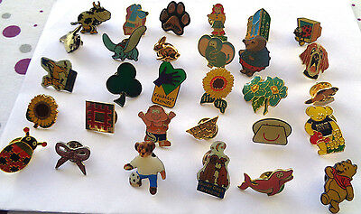Collection   Charity & Other Enamel  Lapel Badges Lot B