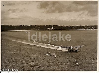 Yankee Clipper Flying Boat Southampton Aircraft Press Release Photo