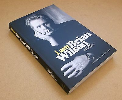 BRIAN WILSON I Am Brian Wilson 2016 UK promo proof paperback book Beach Boys