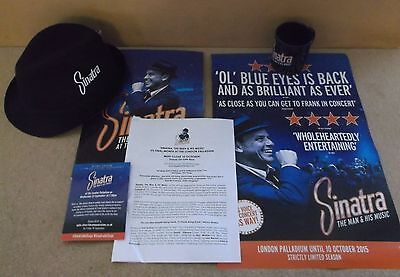 Sinatra: The Man & His Music 2015 UK promotional only press set Frank