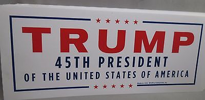 WHOLESALE LOT OF 20 TRUMP 45TH PRESIDENT OF THE UNITED STATES USA STICKERS decal