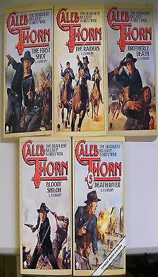 Caleb Thorn - 5 book set [The First Shot; The Raiders; Brotherly Death; Bloody S