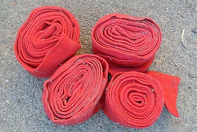 4 Red Stables Bandages