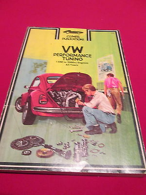 Vw Performance Tuning 1200 To 2000Cc Engines - Clymer Publications 1981 Pb Book