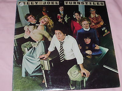 Billy Joel Turnstiles Columbia Records Very Good Condition