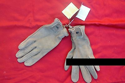 Rsl Chamois Leather Ladies Riding Gloves.