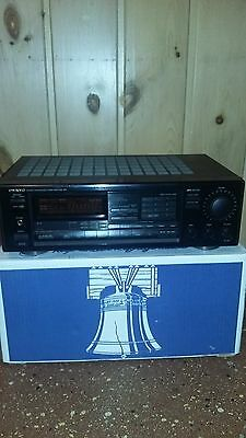 Onkyo TX-904 Quartz Synthesized Tuner Amplifier Stereo AM/FM Receiver