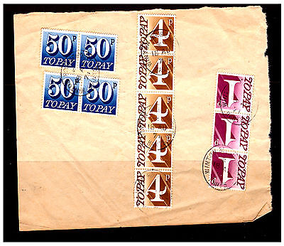 GB Postage Dues Selection On Piece. 1971. Used.  #716