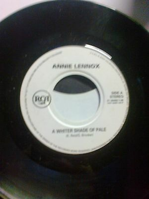 """annie lennox a whiter shade of pale on 7""""single"""