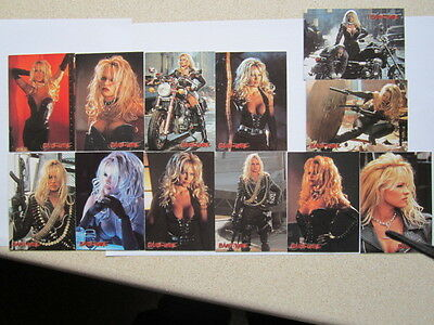 Barb Wire. Pamela Anderson. Embossed Trading Cards