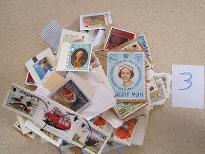 Lot of Channel Island and Isle of Man stamps