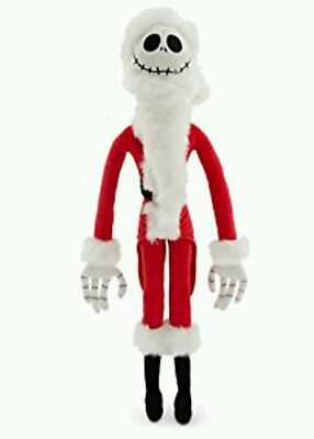 The Nightmare Before Christmas Jack Skellingtopn Santa Claws (posable)