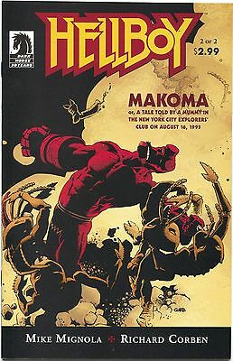 Hellboy Makoma 2 of 2 Dark Horse 2006 NM Mignola Corben