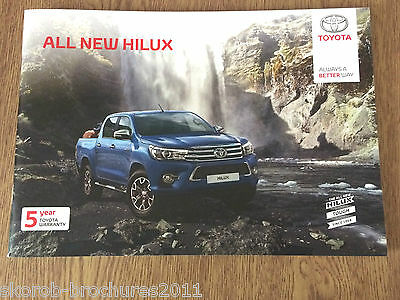 TOYOTA - The New Hilux Sales Brochure 6/2016