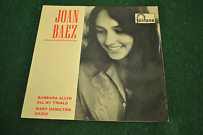 Joan Baez,Lot of Four Early 60s E.Ps.