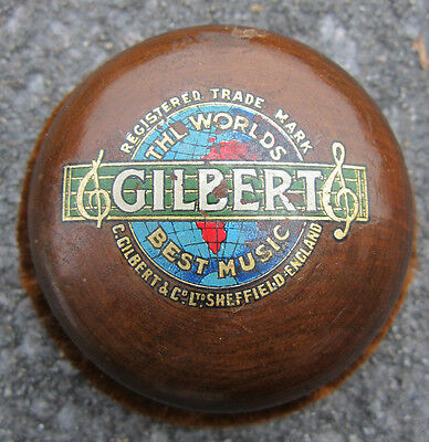 Vintage Gilbert Gramophone Record Cleaner Buffer Good Condition