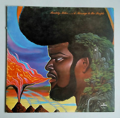 Buddy Miles - A Message To The People - Vinyl LP UK 1971