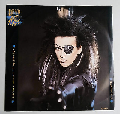 """Dead Or Alive - You Spin Me Round (Like A Record) Vinyl 12"""" UK 1984"""