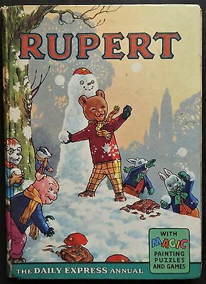 Rupert Annual...1962...original...not Inscribed Or Clipped...m/paints Untouched