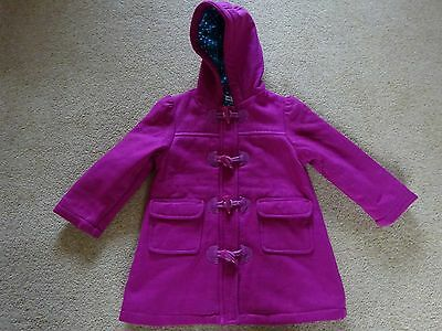 Girl's coat. 2-3 years 98 cm Marks & Spencer Autograph. Duffel style. Pink. Hood