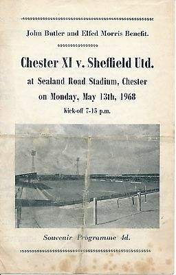 Chester v Sheffield United (Joint Testimonial) 1968