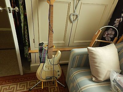 Encore 4 String Bass Guitar With Stand
