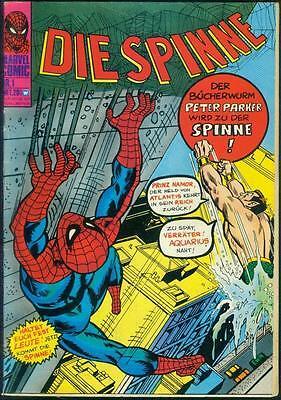 Die Spinne Nr.1 von 1974 Williams - Seltene ORIGINAL MARVEL-COMICHEFT RARITÄT