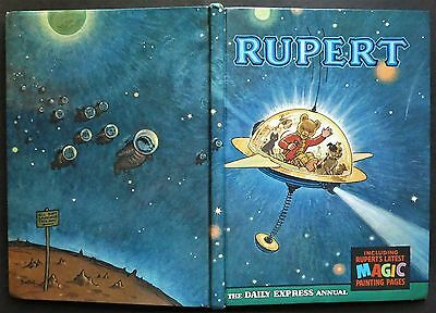 Rupert Annual...1966...original...not Inscribed Or Clipped....m/paints Untouched