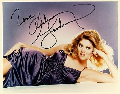 Sexy AUDREY LANDERS Signed Photo