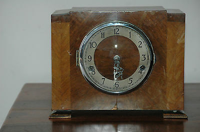 Antique Deco Norland Westminster Chimes Mantle Clock.