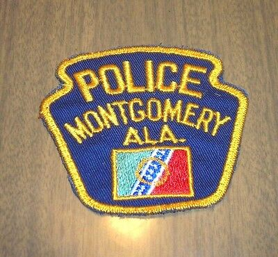MONTGOMERY POLICE, ALABAMA  Police or Law Enforcement Patch