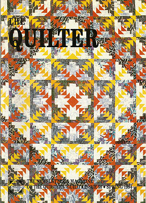 The Quilter Magazine - Issue 58 - Spring 94 - Quilters' Guild Newsletter