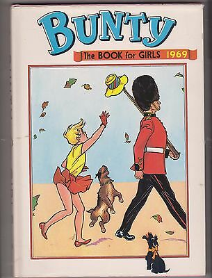 Bunty the Book for Girls 1969; hardback with wrapper unclipped in superb cond