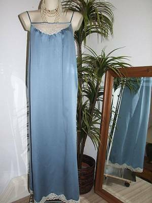"Retro ST MICHAEL Slinky Poly Satin Nylon Girly Nighty Nightdress 36"" Bust   [S80"
