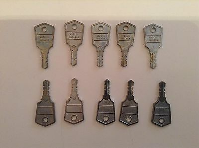 upvc window handle keys / Made In England Type X 10 Of