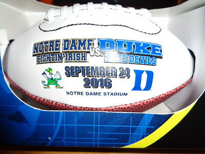 DUKE defeated NOTRE DAME Mini Game Day Football