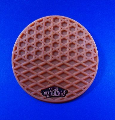 Vans Off The Wall rubber coasters Skate Shoes Sole Coaster beermat Beer mats RAR