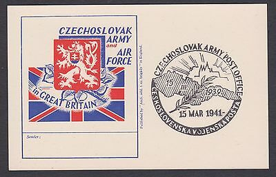 1939 Czechoslovak Army & Air Force in Great Britain / 15th March 1941. H/S