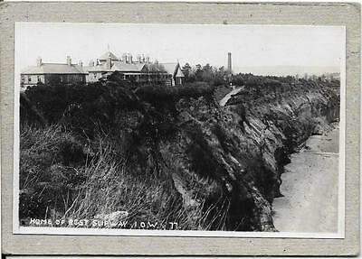 SHANKLIN, Home of Rest Slipway Isle of Wight  postcard