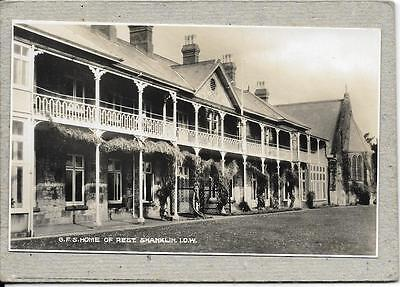 SHANKLIN, GFS Home of Rest, Isle of Wight  postcard