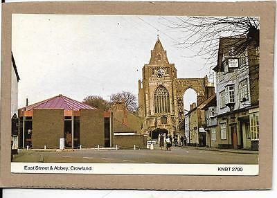 CROWLAND, East Street and Abbey, Cambridgeshire postcard,