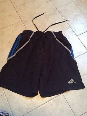 Mens Adidas Response Running Shorts Small Black