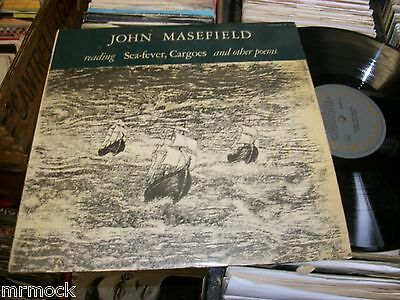 John Masefield- Reading Sea Fever Cargo And Other Poems Vinyl Album